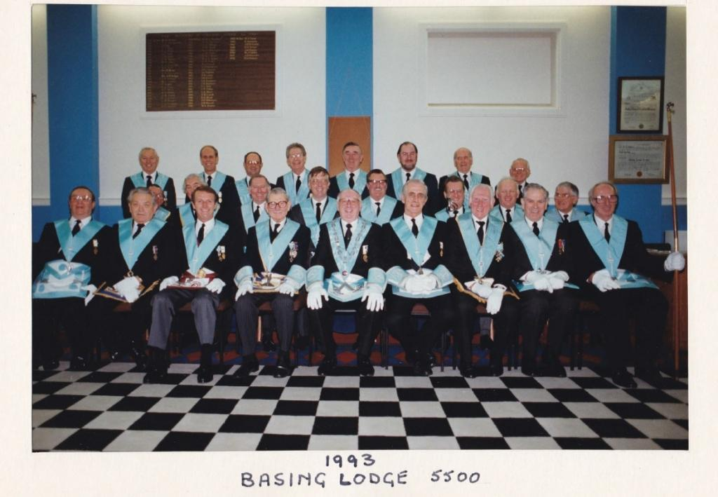 Lodge officers 1993