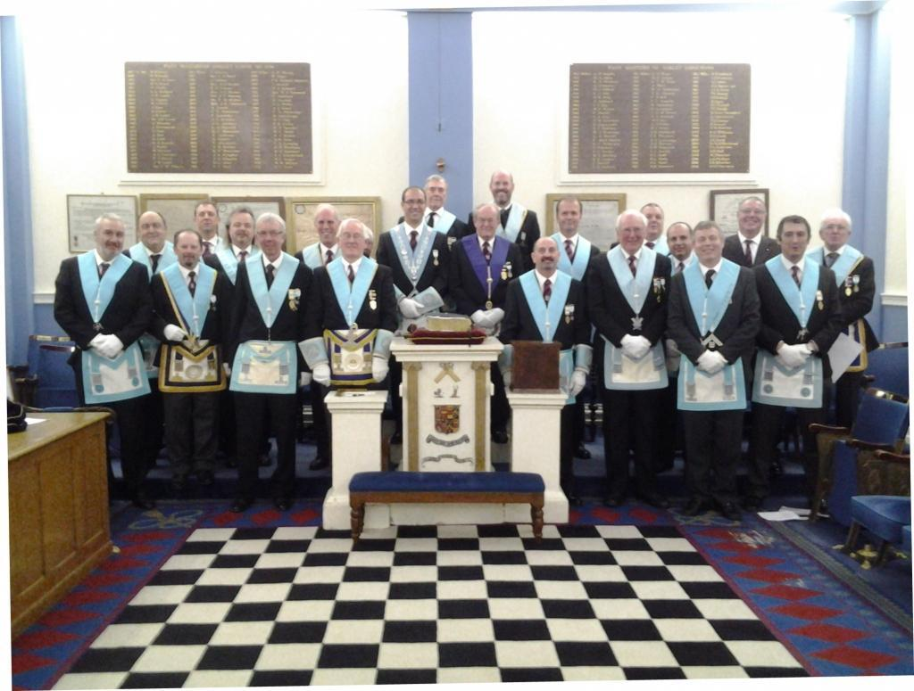 Basing Lodge officers 2014