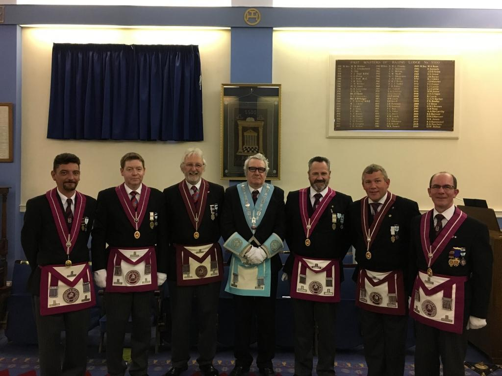 PGSL 1st Degree Lecture team with our WM - Pat Giltinane